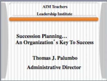 Succession Planning For Schools And Businesses