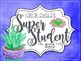 Succulent Behavior Clip Chart with Student Forms