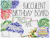 Succulent Birthday Board