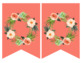 Succulent Bouquet - Editable Banner - Decor