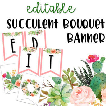 Editable Banners Worksheets & Teaching Resources | TpT