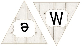 Succulent, Burlap and White Wood Banner