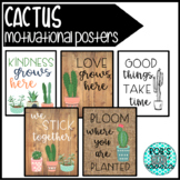 Succulent Cactus Motivational Posters