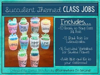 Succulent Class Jobs