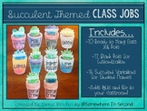 Succulent Class Jobs Ready to Use and Editable Versions!