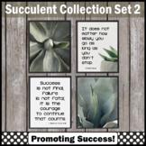 Set 2 Cactus and Succulents Classroom Decor, Modern Farmhouse Classroom Decor