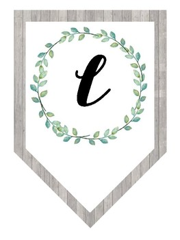 Succulent Classroom Decor | Welcome Banner