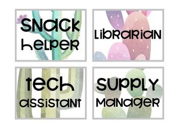 Succulent Classroom Jobs