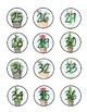 Succulent Classroom Numbers