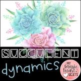 Succulent Dynamics