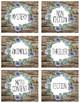Succulent Garden Collection: Classroom Labels (Succulent Farmhouse)