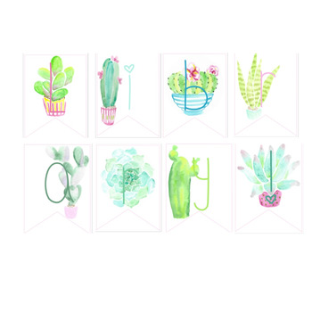 Succulent Library Banner