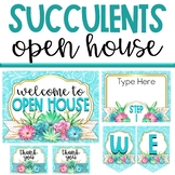 Succulent Open House Kit - Stations, Donations and Forms