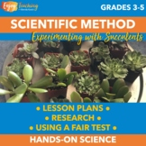 Succulent Science Freebie - Use Succulents to Reinforce the Fair Test