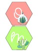 Succulent Welcome Banner  FREEBIE