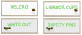 Succulent toolbox labels