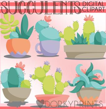 Succulents Clipart
