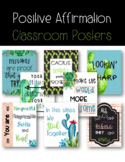 Succulents and Cactus Positive Affirmation Posters *Editab