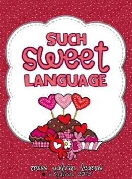 Such Sweet Language - Valentines Literacy Centers