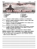 Such Things Happen by Alvin Schwartz Assessment (Scary Stories 3)