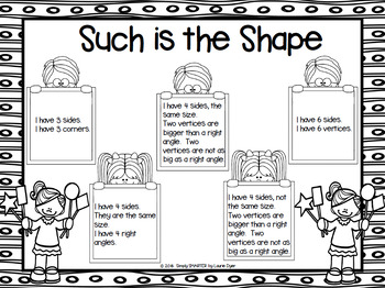 Such is the Shape:  NO PREP Shape Riddle Grab and Cover Game