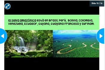 Sudamérica Nearpod