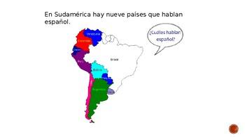 Sudamérica - South America  power point