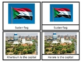Sudan - African Countries- Nomenclature Cards