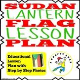 Sudan Flag Lantern {Lesson Plan}