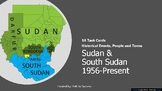 Sudan & South Sudan 1956-present Task Cards