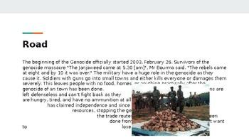 Sudanese Genocide in Darfur PowerPoint