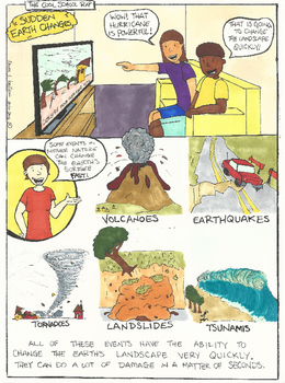 Sudden Earth Changes Comic