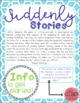 Suddenly Stories - Sacred Writing Time Prompts Pack #1