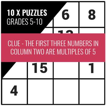 Sudo-Clue (Puzzles 1-10)