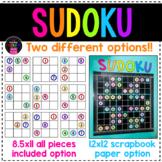 Sudoku Bulletin Board Set