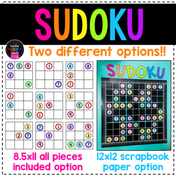 Sudoku Bulletin Board Set