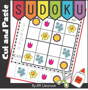 Spring - Sudoku Cut and Paste Activity