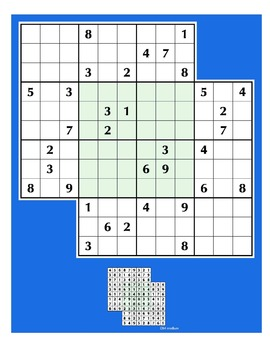 Sudoku Guru Doubled-Up Doku Puzzles