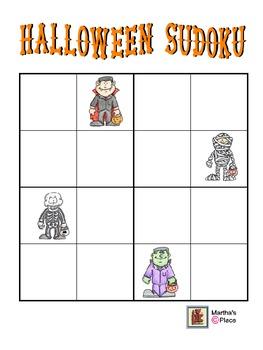 Sudoku Halloween