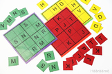 Sudoku Letters and Numbers