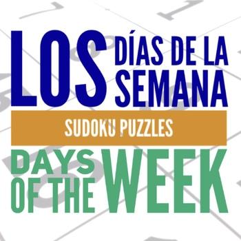 Sudoku Los Días de la Semana, Spanish Days of the Week Puzzle