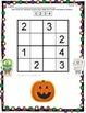 Sudoku Math Activity Level 1 - Halloween