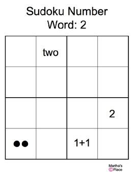 Sudoku Number: 2