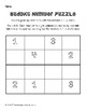 Sudoku Number Puzzle (Simple)