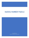 Sudoku Number Puzzle (Simple)