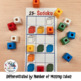 Math Game Primary : Sudoku Patterns with Colored Blocks