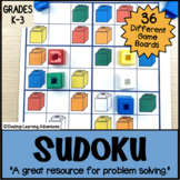 Sudoku Patterns with Linking Cubes - A Visual-Spatial Math Game