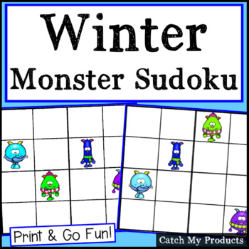 Sudoku Puzzles Easy By Catch My Products Teachers Pay Teachers