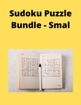 Sudoku Puzzle Bundle - smal - Total 60 Puzzles