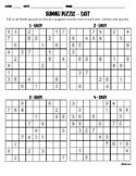 Sudoku Puzzle - Easy